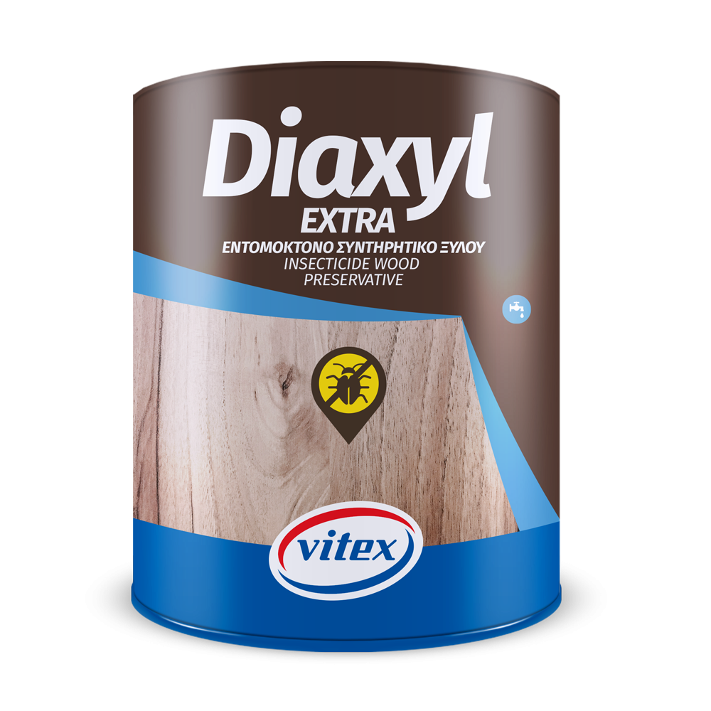 DIAXYL EXTRA VITEX  Συντηρητικό Ξύλου Νερού Ματ .
